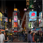 """times square"" by bert monroy"
